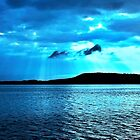 Blue Sunrise waterscape. Gosford. Photo Art. by sunnypicsoz