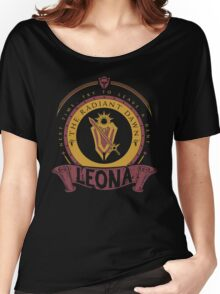 Leona - The Radiant Dawn Women's Relaxed Fit T-Shirt