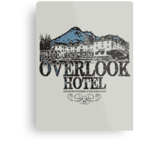 The OverLook Hotel Metal Print