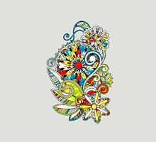 Abstract vector floral and ornamental item background Unisex T-Shirt