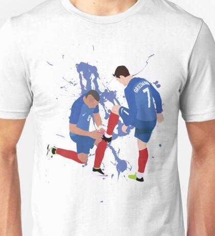 Antoine Griezmann and Dmitri Payet (PRICE FLEXIBLE CHECK DESCRIPTION)  Unisex T-Shirt