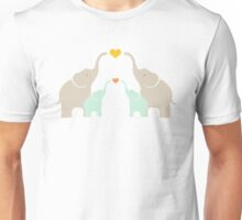 Little Elephant Family Unisex T-Shirt