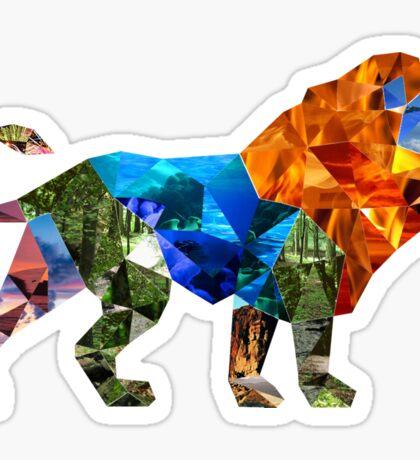 The Eldest Lion Sticker