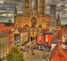 Lincoln Cathedral HDR by Jonathan Cox
