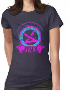 Jinx - The Loose Cannon Womens Fitted T-Shirt