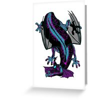 Crash Landing Greeting Card