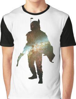 Boba Fett Galaxy Graphic T-Shirt