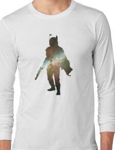 Boba Fett Galaxy Long Sleeve T-Shirt