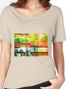 Dog Walk Women's Relaxed Fit T-Shirt
