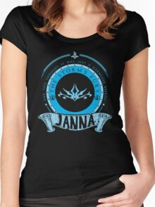 Janna - The Storm's Fury Women's Fitted Scoop T-Shirt