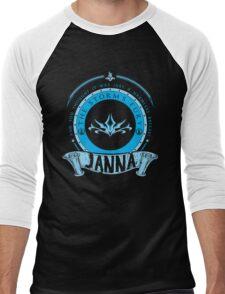 Janna - The Storm's Fury Men's Baseball ¾ T-Shirt