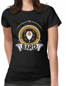 Bard - The Wandering Caretaker Womens Fitted T-Shirt