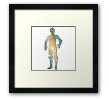 C-3PO Galaxy Framed Print