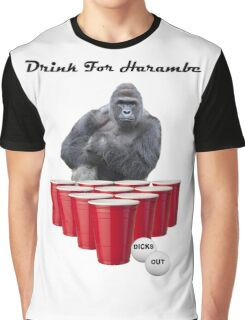 Drink for Harambe Graphic T-Shirt