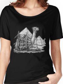 Camel Shirt, Pyramids Shirt Women's Relaxed Fit T-Shirt