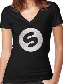 don diablo Women's Fitted V-Neck T-Shirt