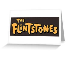 The Flintstones Greeting Card