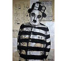 Charles Chaplin Photographic Print