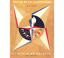 Vintage poster - Festival of Britain Photographic Print