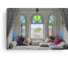 Room with a View - Udaipur - India Canvas Print