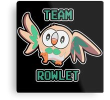 Team Rowlet Metal Print