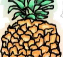 Comic Pineapple Sticker