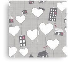 Home whimsy Canvas Print