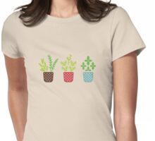 Plants Womens Fitted T-Shirt