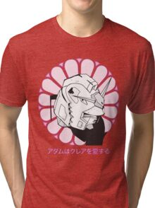 Gundam Buddha Tri-blend T-Shirt