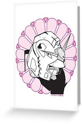 Gundam Buddha by Adam Atteia