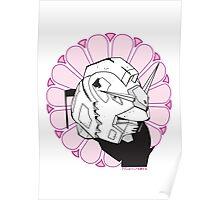 Gundam Buddha Poster
