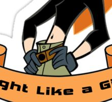 Kim Possible - Fight Like a Girl Sticker