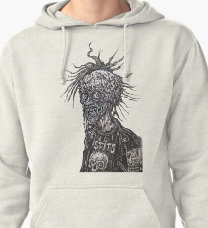 PUNKS UNDEAD Pullover Hoodie