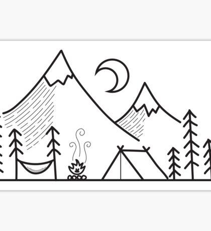 Camping Life Sticker