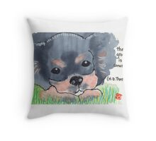 The Sound of the Ground Throw Pillow