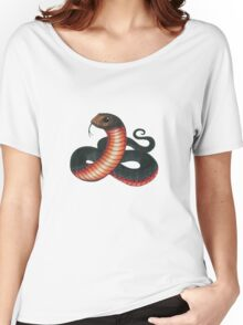Red-bellied Black Snake Women's Relaxed Fit T-Shirt