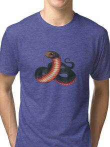 Red-bellied Black Snake Tri-blend T-Shirt