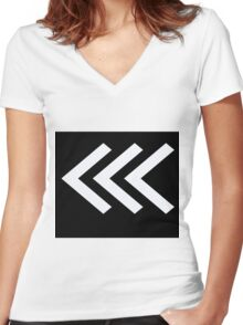 Arrows 31 Women's Fitted V-Neck T-Shirt