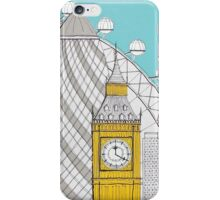 London Landmarks iPhone Case/Skin