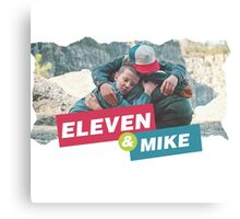 eleven and mike Canvas Print