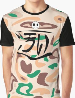 Messy CAMO Graphic T-Shirt