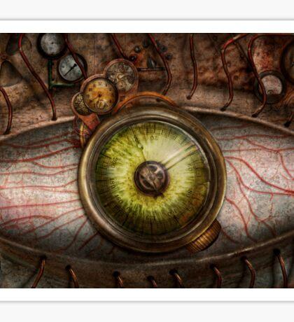 Steampunk - Creepy - Eye on technology  Sticker