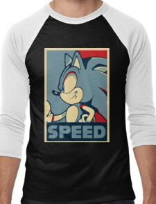 Sonic Speed Men's Baseball ¾ T-Shirt