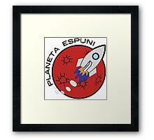 Planeta Espuni Framed Print