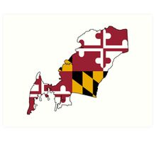 Queen Anne's County, Maryland Art Print