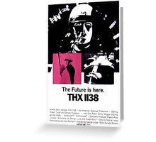 THX-1138 Greeting Card