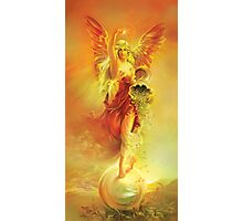 ANGEL OF ABUNDANCE (FORTUNA) Photographic Print