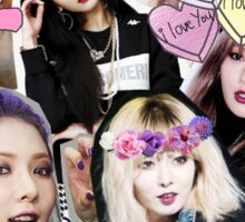 Hyuna Stickers Sticker