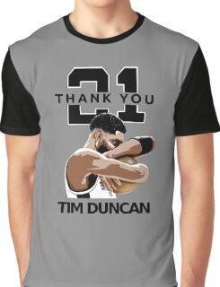 Tim Duncan Retire Graphic T-Shirt
