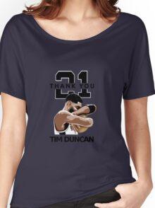 Tim Duncan Retire Women's Relaxed Fit T-Shirt